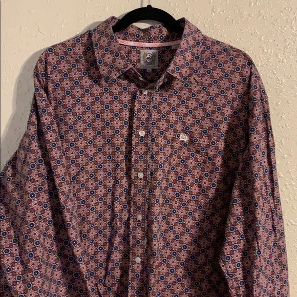 Men's Cinch Long sleeve Button up